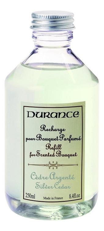 Купить Наполнитель для аромадиффузора Refill For Scented Bouquet Silver Cedar 250мл (серебряный кедр), Durance