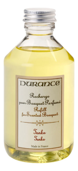Купить Наполнитель для аромадиффузора Refill For Scented Bouquet Tonka 250мл (тонка), Durance