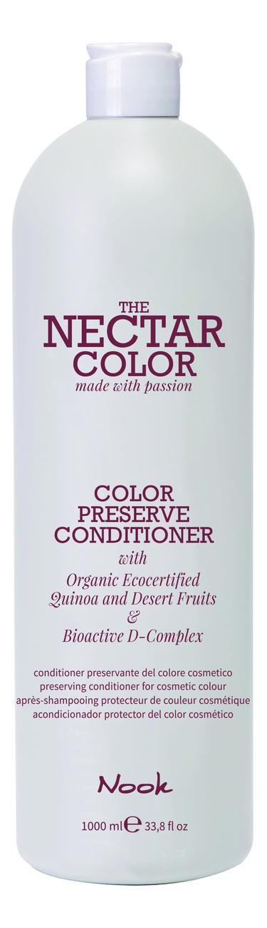 Кондиционер для окрашенных волос Nectar Color Preserve Conditioner: Кондиционер 1000мл бальзам для окрашенных волос silk touch conditioner for color stabilizer 1000мл