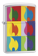 Zippo Зажигалка Classic Abstract Flame Design 29623