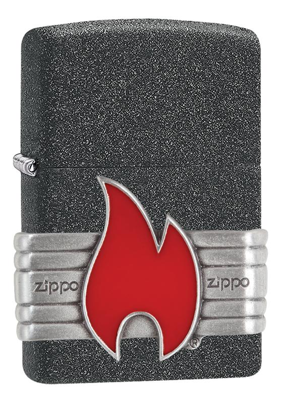 Зажигалка Classic Red Vintage Wrap 29663 (серая, матовая)