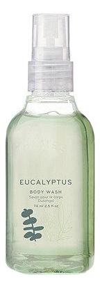 Купить Гель для душа Eucalyptus Body Wash: Гель 74мл, Thymes
