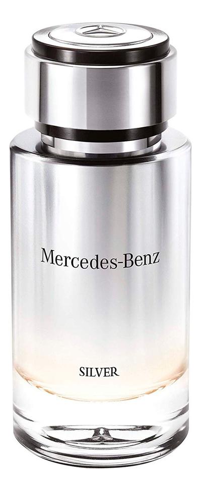 Mercedes-Benz Silver For Men: туалетная вода 120мл тестер