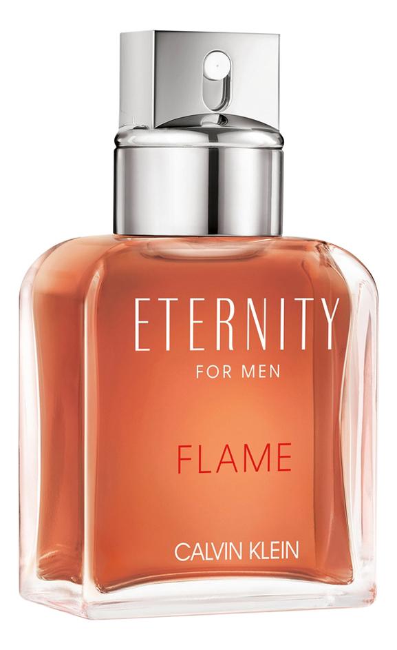 Calvin Klein Eternity Flame For Man: туалетная вода 100мл тестер calvin klein eternity for men eau de parfum 2019 туалетные духи тестер 100 мл