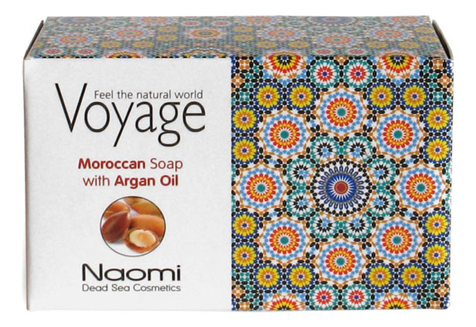 Мыло для лица, волос и тела Voyage Moroccan Soap With Argan Oil 140г