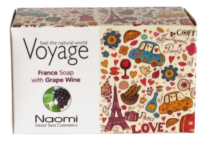 Мыло для лица и тела Voyage France Soap With Grape Wine 140г