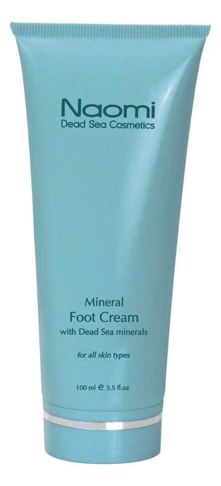 Крем для ног с минералами Мертвого моря Mineral Foot Cream With Dead Sea Minerals 100мл