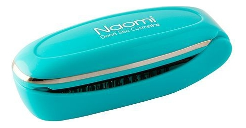 Расческа массажная с магнитами Electric Massage Comb AS-1178 (голубая)