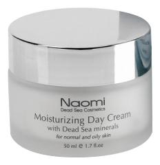 Дневной увлажняющий крем для лица с минералами Мертвого моря Moisturizing Day Cream With Dead Sea Minerals For Normal And Oily Skin 50мл