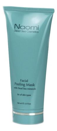 Очищающая пилинг-маска с минералами Мертвого моря Facial Peeling Mask With Dead Sea Minerals 100мл маска для лица naomi dead sea cosmetics naomi dead sea cosmetics na035lwfxom2