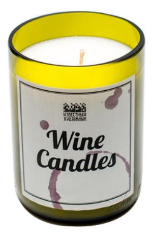 Фото - Ароматическая свеча Wine Candles 250г (новогодняя елка) ароматическая свеча какао и табак свеча 250г