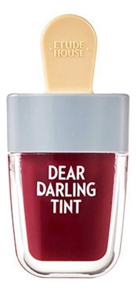 Увлажняющий тинт для губ Dear Darling Water Gel Tint 4,5г: Shark Red тинт для губ dear darling water tint 10г orange ade