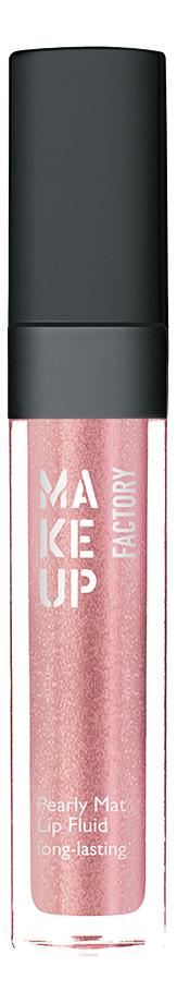 Перламутровый матовый блеск-флюид для губ Pearly Mat Lip Fluid Long-Lasting 6,5мл: 18 Rustic Rose