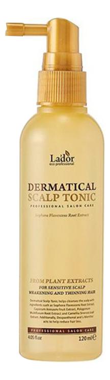 Тоник для кожи головы против выпадения волос Dermatical Scalp Tonic 120мл