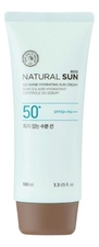 The Face Shop Матирующий солнцезащитный крем Natural Sun Eco No Shine Hydrating Sun Cream SPF50 PA+++ 100мл