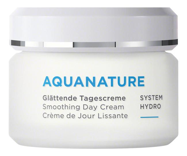 Купить Разглаживающий дневной крем для лица Aquanature Smoothing Day Cream 50мл, Annemarie Borlind