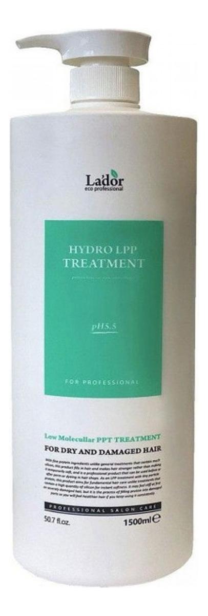 Купить Маска для волос восстанавливающая Eco Hydro Lpp Treatment: Маска 1500мл, La`dor