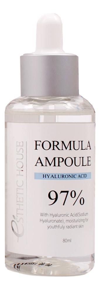 Сыворотка для лица Formula Ampoule Hyaluronic Acid 80мл esthetic house formula ampoule hyaluronic acid сыворотка для лица 80 мл