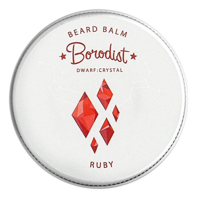 borodist масло для бороды warming Бальзам для бороды Beard Balm Ruby 30г