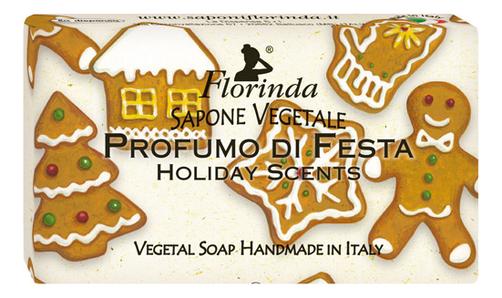 Фото - Натуральное мыло Magie Di Natale Profumo Di Festa 100г profumo di donna юбка до колена