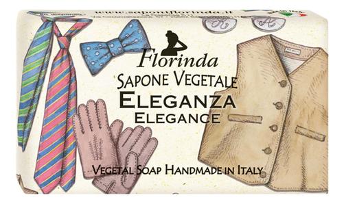 Натуральное мыло Dolce Vita Eleganza 100г: Мыло 100г натуральное мыло dolce vita antica purezza 100г
