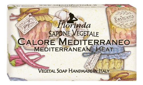 Натуральное мыло Dolce Vita Calore Mediterraneo 100г натуральное мыло dolce vita antica purezza 100г