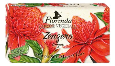 Натуральное мыло Zenzero 100г: Мыло 100г натуральное мыло dolce vita antica purezza 100г