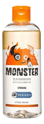 Двухфазная очищающая вода Monster Oil Cleansing Water: Вода 300мл очищающая вода для лица с целебными травами healing herb cleansing water 300мл