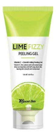 Купить Гель-скатка для лица Lime Fizzy Peeling Gel 120мл, Secret Skin