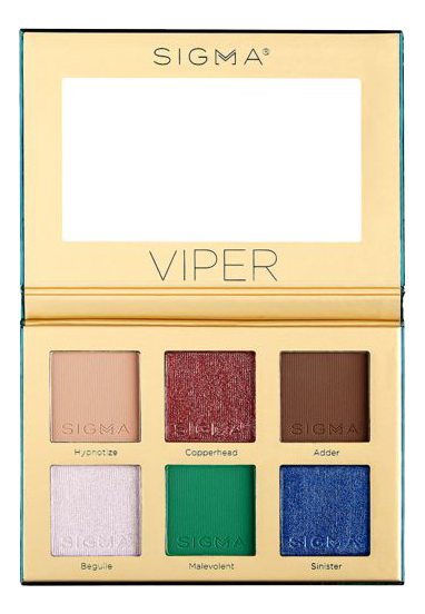 Палетка теней для век Viper Eyeshadow Palette guerlain palette golden bee палетка теней для век