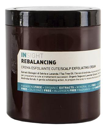 Очищающий крем для кожи головы Rebalancing Scalp Exfoliating Cream 180мл