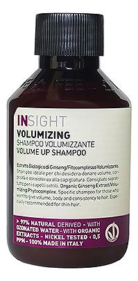 Купить Шампунь для объема волос Volumizing Volume Up Shampoo: Шампунь 100мл, INSIGHT