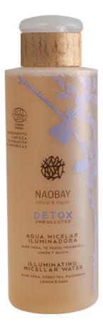 Мицеллярная вода для лица Ecocert Micellar Water Detox 200мл naobay hydraplus cream