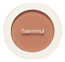 Однотонные румяна Saemmul Single Blusher 5г: BE03 Knit Beige однотонные румяна saemmul single blusher 5г rd02 dry rose