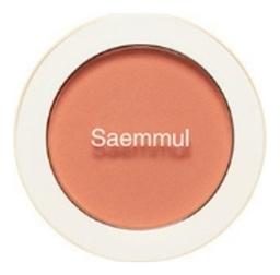 Однотонные румяна Saemmul Single Blusher 5г: OR04 Pumpkin Latte