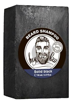 Твердый шампунь для бороды Beard Shampoo Black 80г