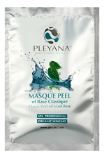 PLEYANA Альгинатная базисная маска для лица и тела Classic Peel Off Mask Base 30г
