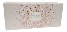 Yankee Candle Набор Нежный букет (Cherry Blossom 104г + Sweet Nothings 104г + Soft Blanket 104г)