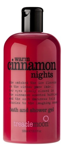 Гель для душа Пряная Корица Warm Cinnamon Nights Bath And Shower Gel: 500мл