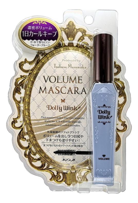 Купить Тушь для ресниц Dolly Wink Volume Mascara (черная), KOJI
