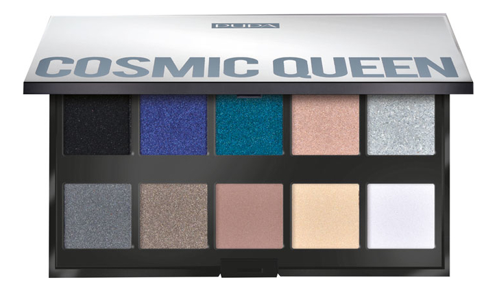 Палетка теней для век Make Up Stories 18г: 004 Cosmic Queen