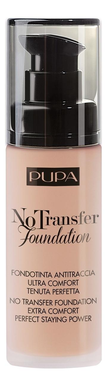 Тональный крем No Transfer Foundation 30мл: 300 Natural Silk тональный крем с эффектом лифтинга velvet lifting foundation 30мл 15 natural