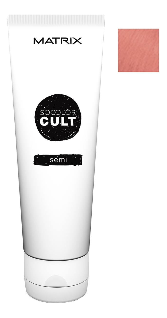 Крем с пигментами прямого действия SoColor Cult Direct Permanent 118мл: Sparkling Rose крем с пигментами прямого действия socolor cult direct permanent 118мл lavender macaron