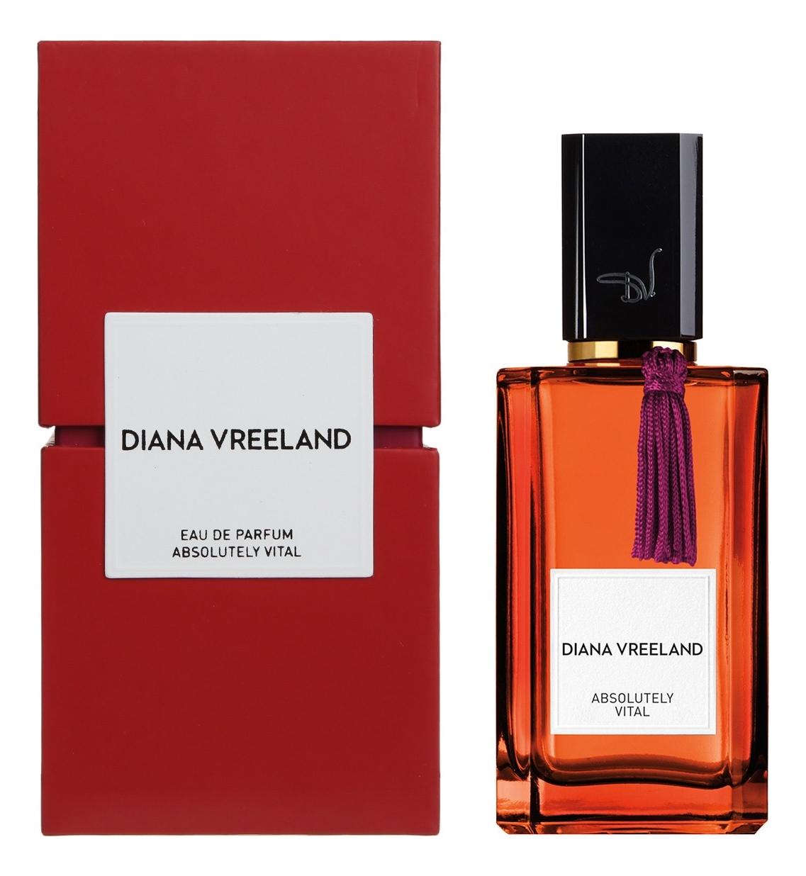 Diana Vreeland Absolutely Vital : парфюмерная вода 100мл diana vreeland simply divine туалетные духи 50 мл