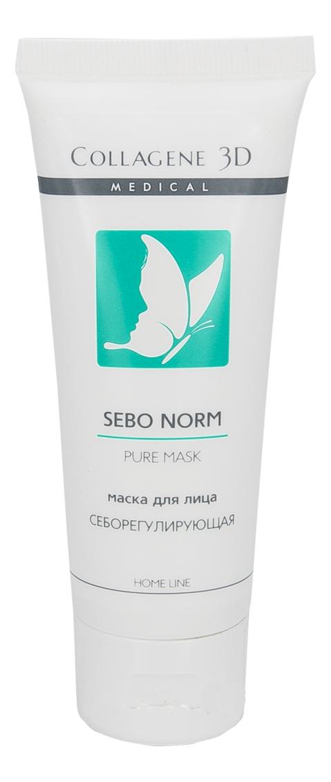 Купить Маска себорегулирующая для лица Sebo Norm 75мл, Medical Collagene 3D