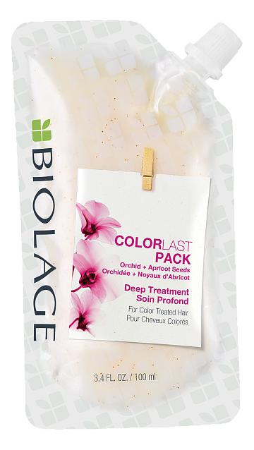 Фото - Маска для волос Biolage Deep Treatment ColorLast Pack 100мл маска для окрашенных волос biolage colorlast orchid mask 150мл