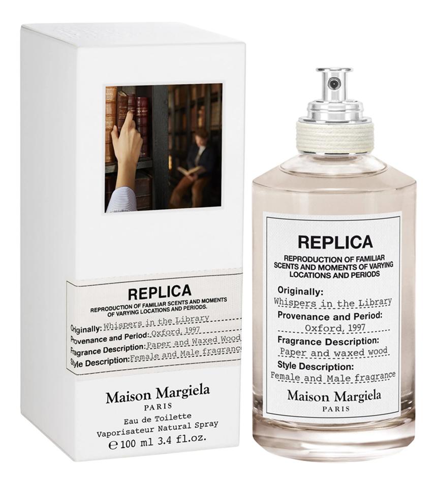 Купить Maison Martin Margiela Replica Whispers In The Library: туалетная вода 100мл