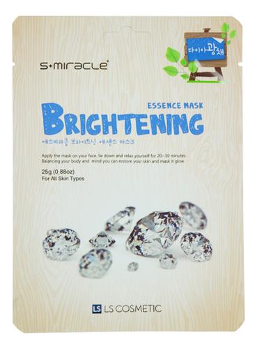 Тканевая маска для лица придающаяя сияние S+Miracle Brightening Essence Mask 25г