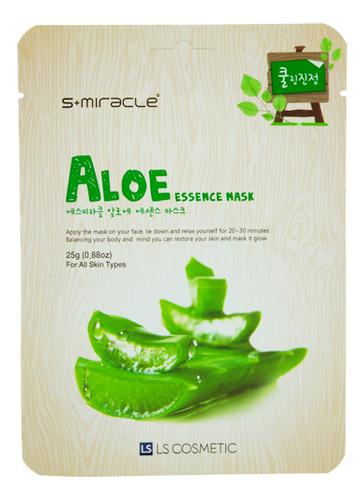 Тканевая маска для лица с экстрактом алоэ S+Miracle Aloe Essence Mask 25г