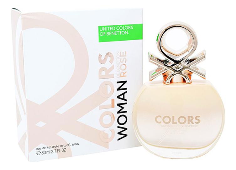 Фото - Colors De Benetton Rose: туалетная вода 80мл l l aime туалетная вода 80мл